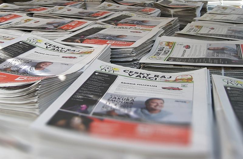 český ráj v akci - vydání březen 2016 - výtisky