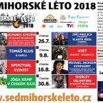 Sedmihorské léto 2018 odkrývá svůj program – Ivan Trojan, Simona Stašová, Tomáš Klus, Spirituál Kvintet, Michael Jackson Symphony a další