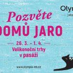 do 1.4. • VELIKONOČNÍ TRHY – OC Olympia Mladá Boleslav