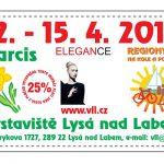 12. – 15. 4. • ELEGANCE, NARCIS, REGIONY – Výstaviště Lysá nad Labem – sleva na vstupné s ČRVA