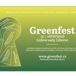 15. – 16. 6. • GREENFEST – Lidové sady, Liberec