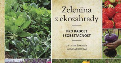 ČERVENCOVÁ SOUTĚŽ O KNIHU ZELENINA Z EKOZAHRADY pro radost i soběstačnost od nakladatelství SMART PRE