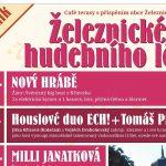 27. 7. • PEPARD & ŠTĚPÁNKA + host Standa Synek – Železnické hudební léto – Café Terasy