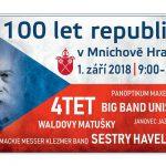 1. 9. • 100 LET REPUBLIKY – Mnichovo Hradiště