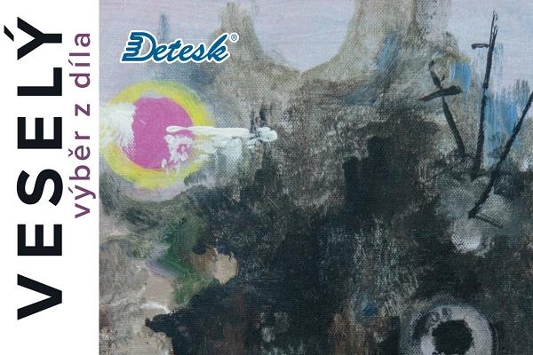do 2. 9. • VLADIMÍR VESELÝ – obrazy, grafika, smalty – výběr z díla – GALERIE DETESK, Železný Brod