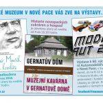MUZEUM NOVÁ PAKA – VÝSTAVA MODELŮ AUT • HISTORIE NOVOPACKÝCH CUKRÁREN