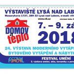 7. – 9. 9. • DOMOV & TEPLO – Výstaviště Lysá nad Labem – KUPÓN NA SLEVU NA VSTUPNÉ