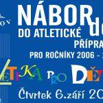 6. 9. • NÁBOR DĚTÍ DO ATLETICKÉ PŘÍPRAVKY – Stadion Ludvíka Daňka Turnov