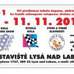 9. – 11. 11. • KOLA 2018 – Výstaviště Lysá nad Labem + SLEVOVÝ KUPON NA VSTUPNÉ