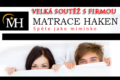 VELKÁ SOUTĚŽ S FIRMOU MATRACE HAKEN – 4. otázka