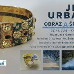 do 17. 2. • JIŘÍ URBAN – Obraz a šperk – Galerie Detesk Železný Brod