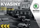 do 1. září • 70 LET S OKŘÍDLENÝM ŠÍPEM KVASINY – výstava ve Škoda Muzeu, Mladá Boleslav