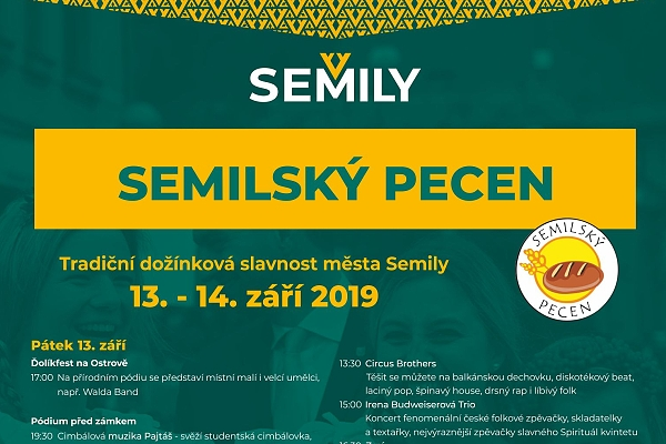 13. – 14. 9. • SEMILSKÝ PECEN – Semily