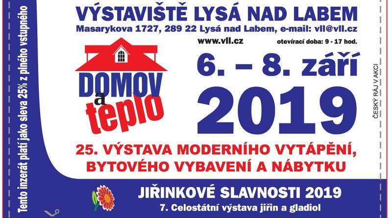 6. – 8. 9. • DOMOV A TEPLO – Výstava moderního vytápění, bytového vybavení a nábytku +SLEVA NA VSTUPNÉ S ČRVA