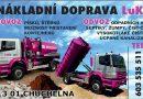 Firma LuKa – odvoz odpadních vod ze septiků, žump, čističek, dovoz písků a štěrků…