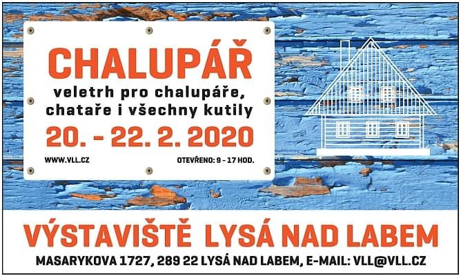 20. – 22. 2. • CHALUPÁŘ – Výstaviště Lysá nad Labem