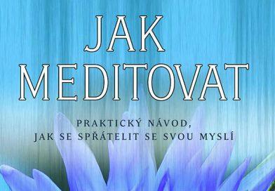 Únorová křížovka o knihu: Jak meditovat