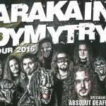 13. 5. • ARAKAIN DYMYTRY TOUR – KD Pěnčín u Turnova