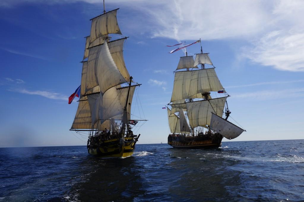 la grace - tall ship race - český ráj v akci - putování s la grace