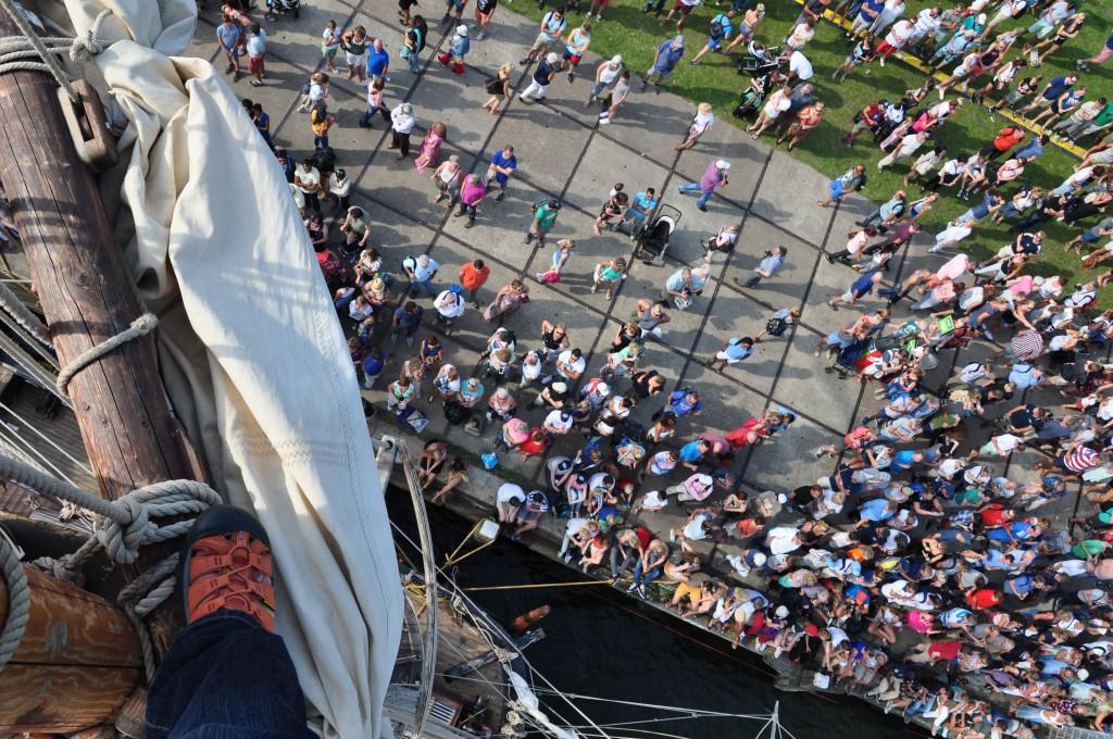 la grace - tall ship race 2015 - český ráj v akci - putování s la grace