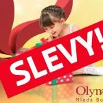 26. 12. • POVÁNOČNÍ SLEVY ZAČÍNAJÍ! Olympia MB je tím správným místem, kam si přijít vybrat