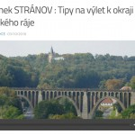Zámek STRÁNOV : Tipy na výlet k okraji Českého ráje s RÁDIEM JASPIS