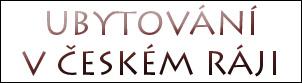 UBYTOVANI RECALL - ČESKÝ RÁJ - V AKCI kopie