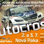 2. – 3. 7. • Fuchs Oil Autocross Nová Paka FIA Mistrovství Evropy
