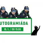 15. 1. – AUTOGRAMIÁDA HOKEJISTŮ BK MB, POVÁNOČNÍ SLEVY – OC Olympia Mladá Boleslav