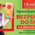 9. 9. • BEZPEČNĚ DO ŠKOLY – Olympia Mladá Boleslav