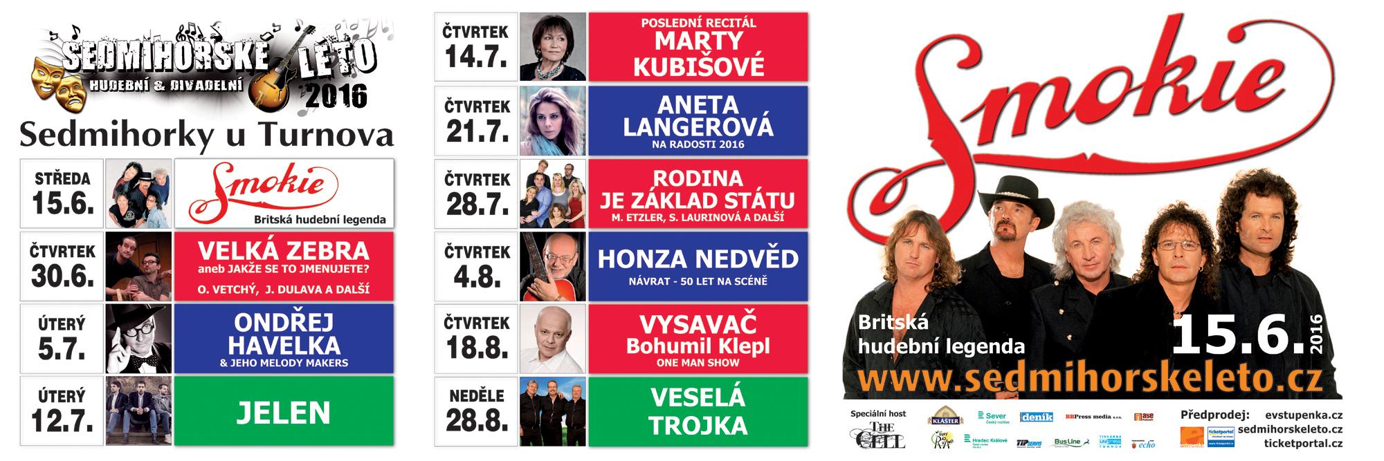 sedmihorské léto 2016 - smokie - jelen - český ráj v akci
