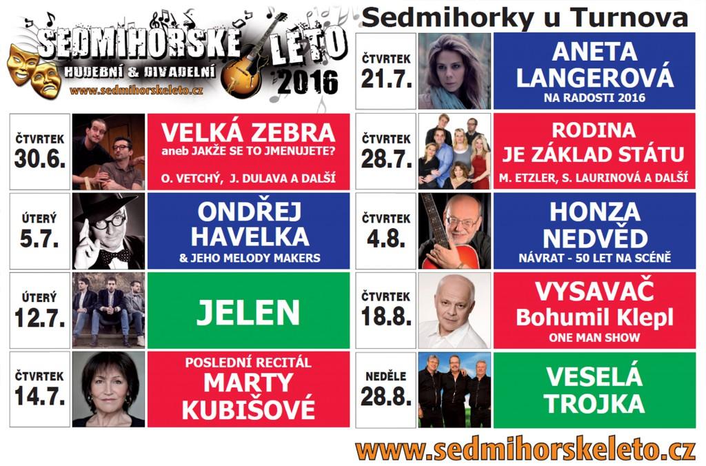 Sedmihorské léto  2016 - program - český ráj v akci