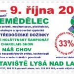 6. – 9. 10. • ZEMĚDĚLEC – Lysá nad Labem – sleva na vstupném s ČRVA