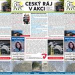 ČERVENCOVÝ ČESKÝ RÁJ V AKCI –  ve schránkách 18. – 19. 7.