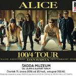 11.2. • DAN BÁRTA & ALICE: 100/4 TOUR – MUZEUM ŠKODA MLADÁ BOLESLAV