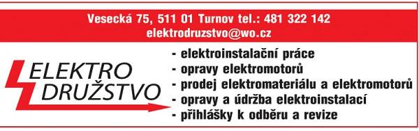 elektrodružstvo turnov - český ráj v akci - vánoční tipy