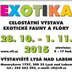 28.10. – 1.11. • Výstaviště Lysá nad Labem ožije EXOTIKOU