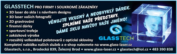 glasstech - český ráj v akci - tipy vánoční