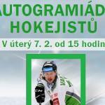 7. 2. • AUTOGRAMIÁDA HOKEJISTŮ – OC Olympia Mladá Boleslav