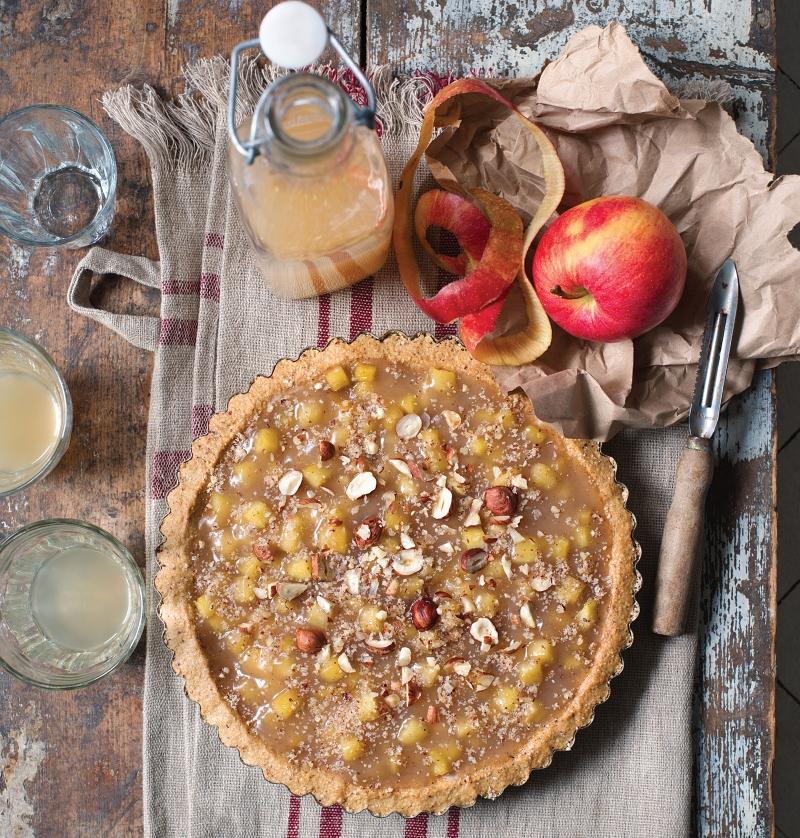 jablecny kolac - kuchařka - český ráj v akci