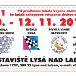 10. – 12. 11. • AUTOSALON KOLA 2017 – Výstaviště Lysá nad Labem – VOLNÁ VSTUPENKA S ČESKÝM RÁJEM V AKCI