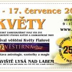 14. – 17. 7. • KVĚTY – výstava v Lysé nad Labem (KUPÓN NA SLEVU NA VSTUPNÉ)