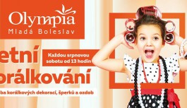každou srpnovou sobotu • LETNÍ KORÁLKOVÁNÍ – Olympia Mladá Boleslav