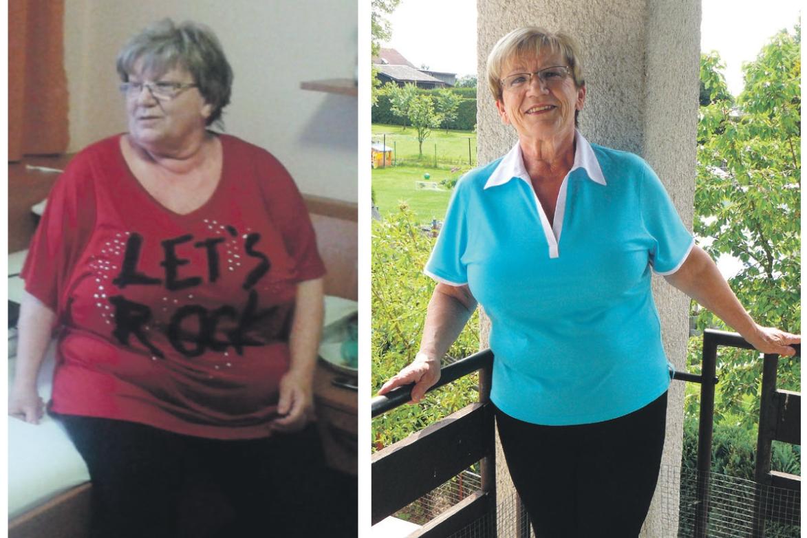 Paní Jana zhubla díky Naturhouse Turnov 50 kilogramů a mohla odhodit berle