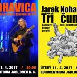 11. 4. • JAREK NOHAVICA – 2x – Eurocentrum Jablonec nad Nisou