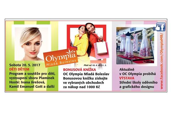 bonusová knížka olympia mladá boleslav - český ráj v akci