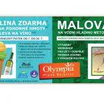 ZMRZLINA ZDARMA A MALOVÁNÍ NA VODNÍ HLADINU – červencové pátky a soboty v Olympia Mladá Boleslav