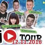 12. 11. • JŮTUBER SHOW – Olympia Mladá Boleslav