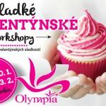 6. a 13. 2. • SLADKÉ VALENTÝNSKÉ WORKSHOPY A VALENTÝN – Olympia Mladá Boleslav