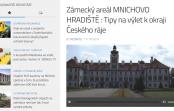 Zámecký areál MNICHOVO HRADIŠTĚ : Tipy na výlet k okraji Českého ráje s RÁDIEM JASPIS